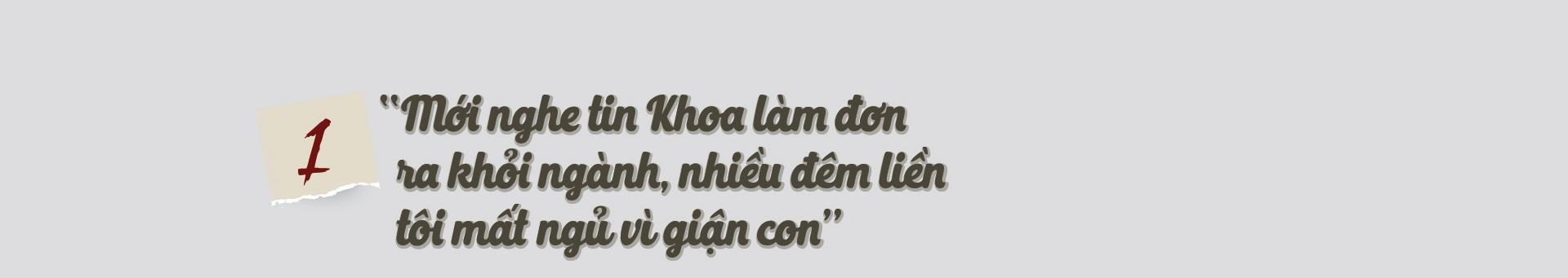 """Bố mẹ cựu thiếu tá công an Trịnh Văn Khoa: """"Gia đình tôi tiếc và lo lắm, nhưng rất tự hào về Khoa"""" - Ảnh 1."""
