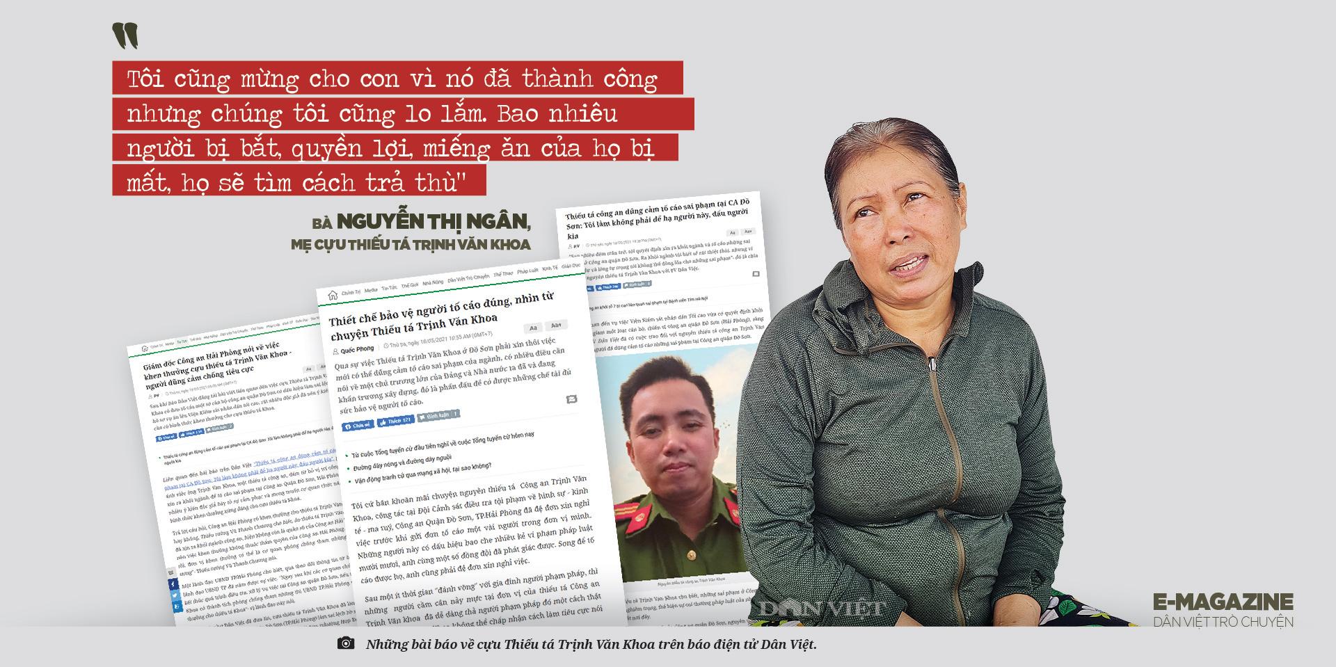 """Bố mẹ cựu thiếu tá công an Trịnh Văn Khoa: """"Gia đình tôi tiếc và lo lắm, nhưng rất tự hào về Khoa"""" - Ảnh 4."""