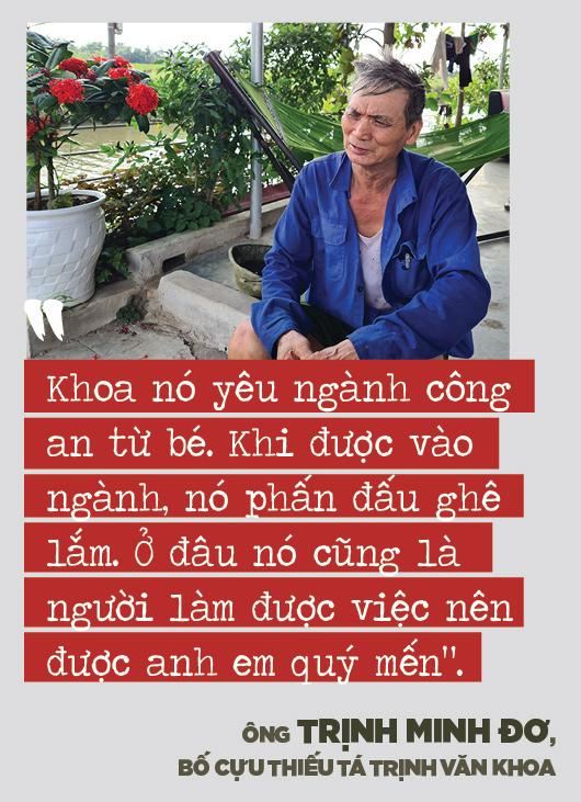 """Bố mẹ cựu thiếu tá công an Trịnh Văn Khoa: """"Gia đình tôi tiếc và lo lắm, nhưng rất tự hào về Khoa"""" - Ảnh 6."""