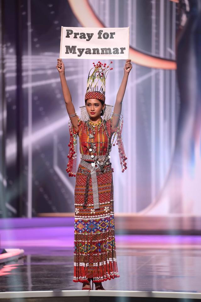 """Động thái của đại diện Myanmar sau màn """"cầu cứu"""" tại Miss Universe 2020 gây xôn xao"""
