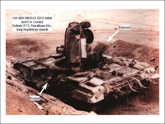 """Đạn xuyên giáp bằng uranium nghèo: Siêu vũ khí Mỹ có làm Nga """"cóng""""? - Ảnh 12."""