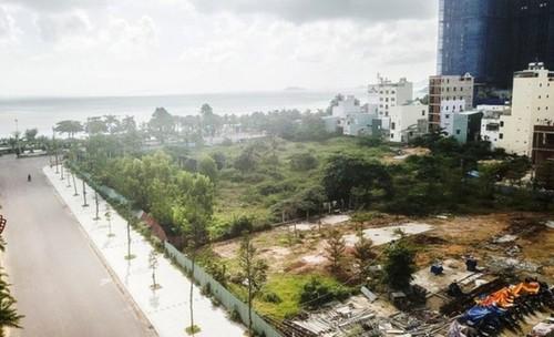 """""""Đất vàng"""" bỏ hoang, Bình Định lên phương án làm rào bảo vệ chờ đấu giá - Ảnh 2."""