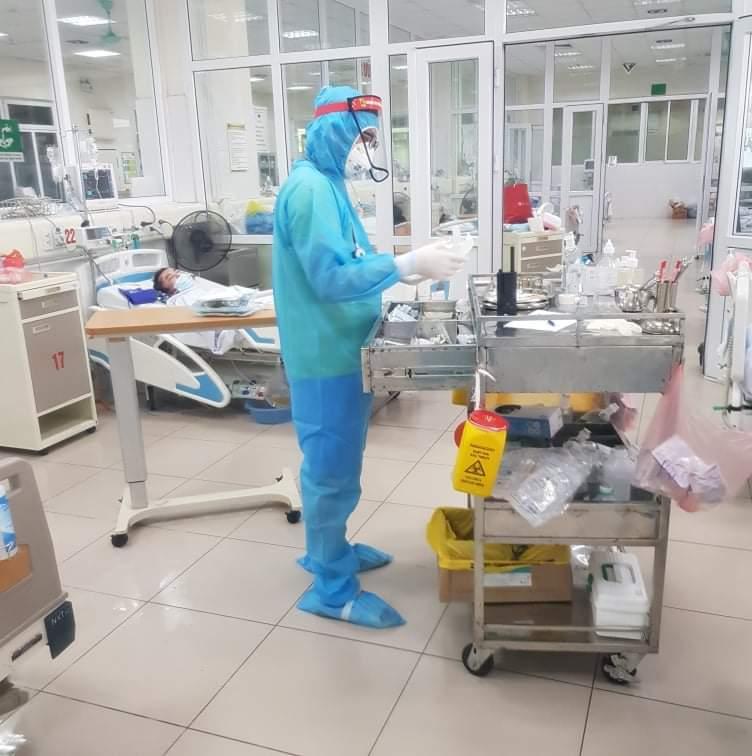 """Hết hạn cách ly, BV Bệnh Nhiệt đới TƯ cơ sở 2 tự """"đóng cửa"""" chuyên tâm điều trị bệnh nhân Covid-19 - Ảnh 2."""