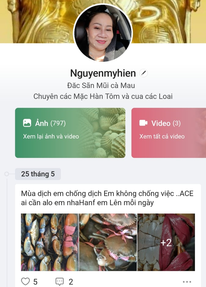 Đặc sản Cà Mau lên ngôi nhờ hình thức bán hàng online - Ảnh 3.