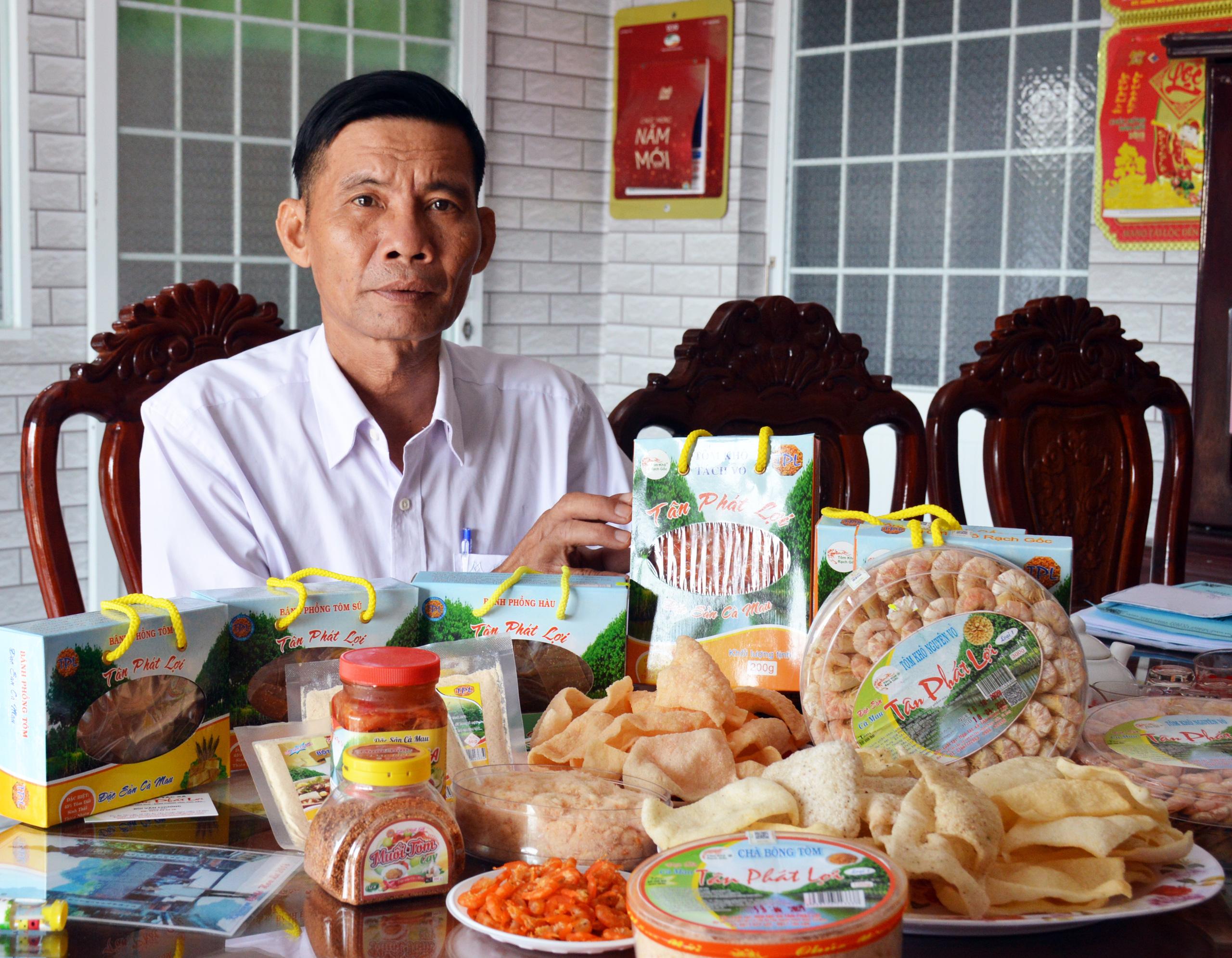 Đặc sản Cà Mau lên ngôi nhờ hình thức bán hàng online - Ảnh 4.