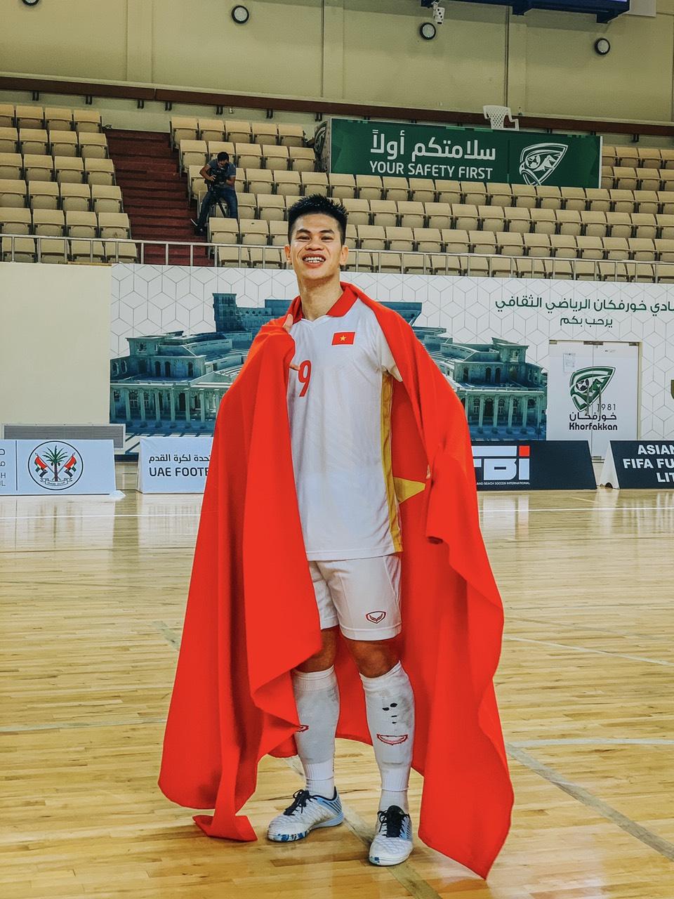 Hành trình của chàng trai phố núi đến với đấu trường World Cup Futsal 2021 - Ảnh 1.