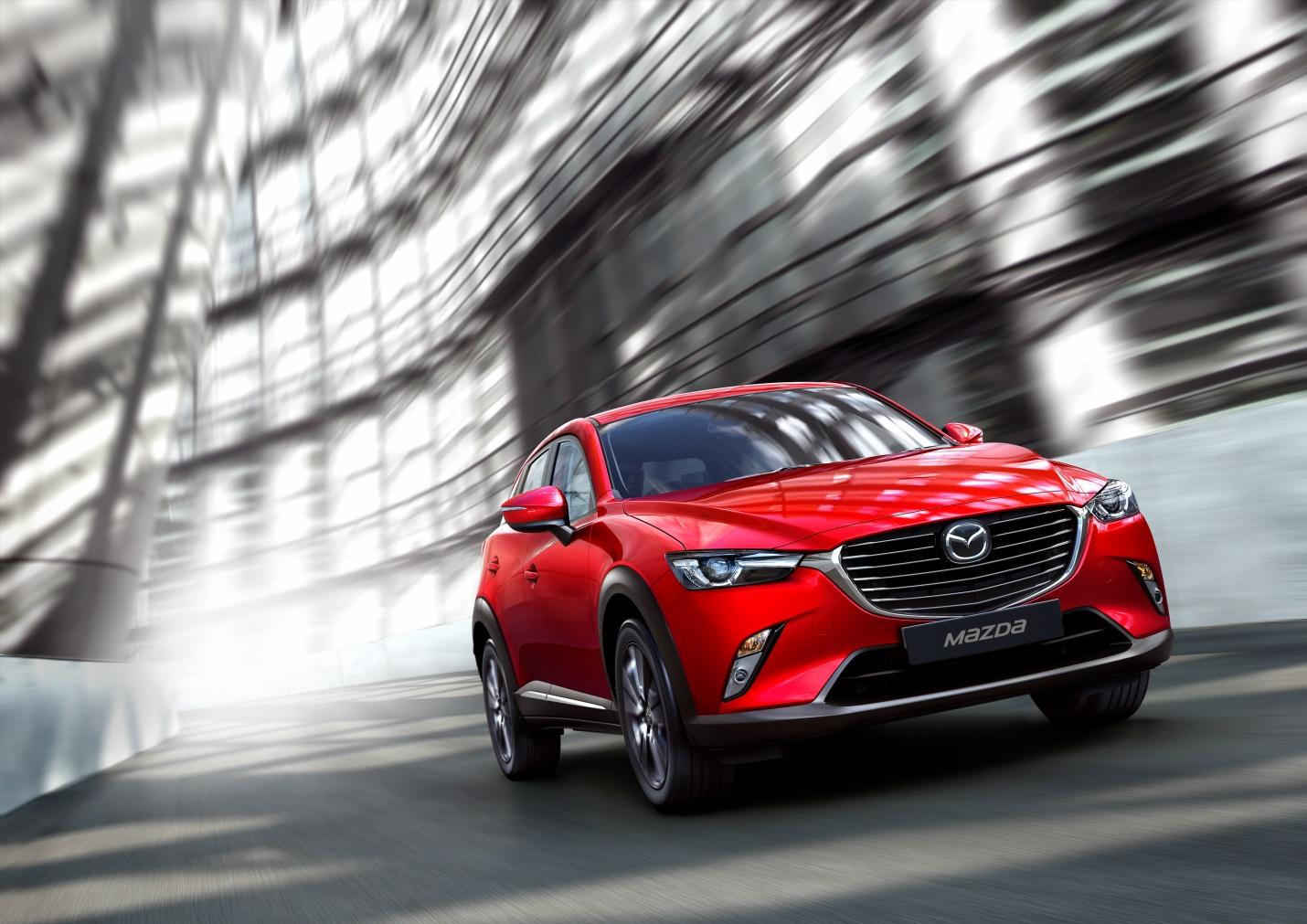 Điểm nhấn công nghệ trên Mazda CX-3 vừa ra mắt - Ảnh 1.