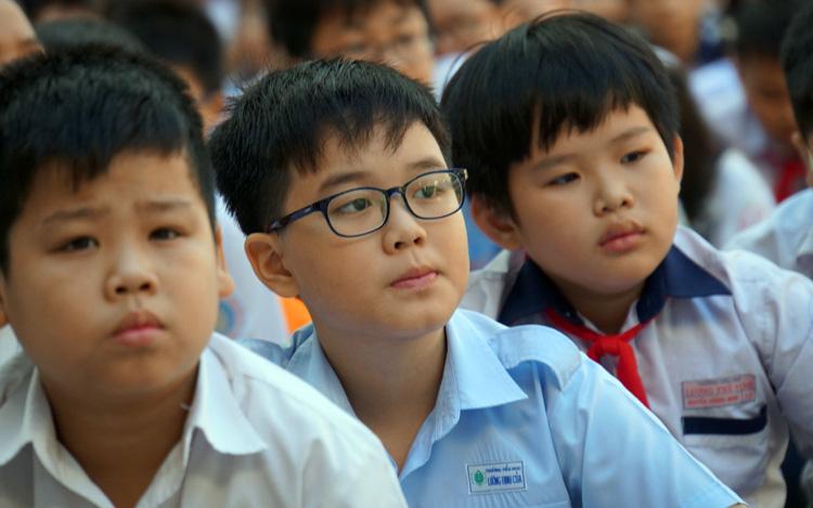 """Không thể thi vì dịch, các trường """"hot"""" xét học bạ và thi online tuyển sinh lớp 6 thế nào?"""