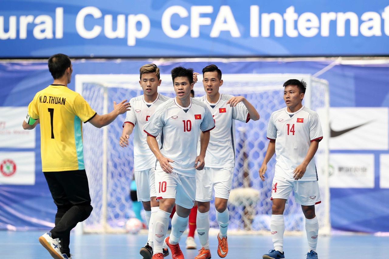 Hành trình của chàng trai phố núi đến với đấu trường World Cup Futsal 2021 - Ảnh 7.