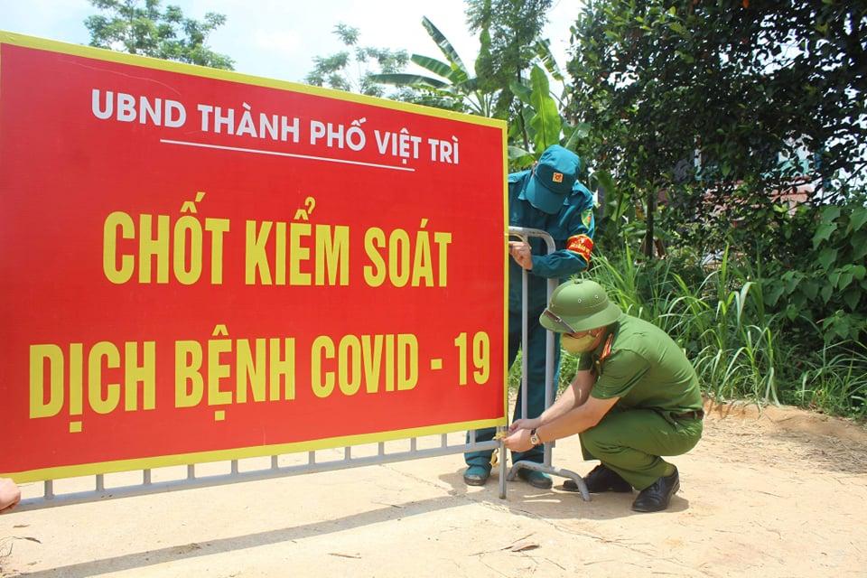 Phú Thọ: Dỡ phong tỏa tại 2 khu dân cư tại xã Kim Đức - Ảnh 1.