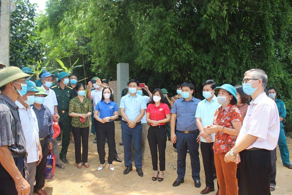 Phú Thọ: Dỡ phong tỏa tại 2 khu dân cư tại xã Kim Đức - Ảnh 2.