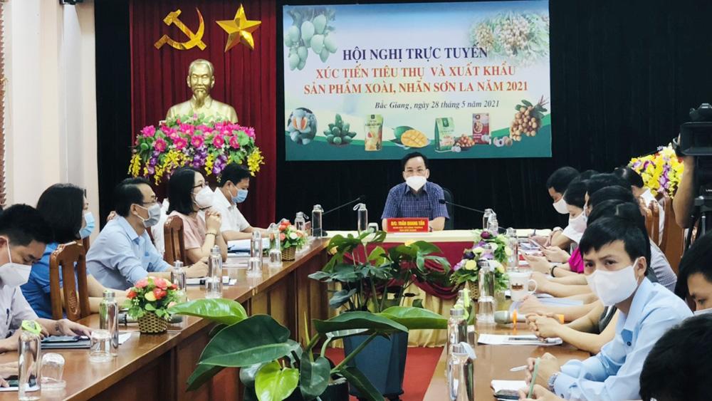 Đàm phán với Trung Quốc đưa nông sản Sơn La lên sàn - Ảnh 1.