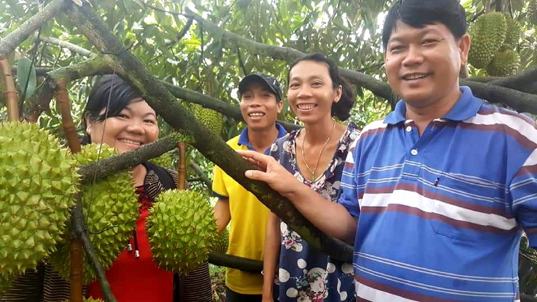 """Nhiều doanh nghiệp đang làm """"bà đỡ"""" hỗ trợ thu mua trái cây cho nông dân trong đại dịch Covid-19 - Ảnh 1."""