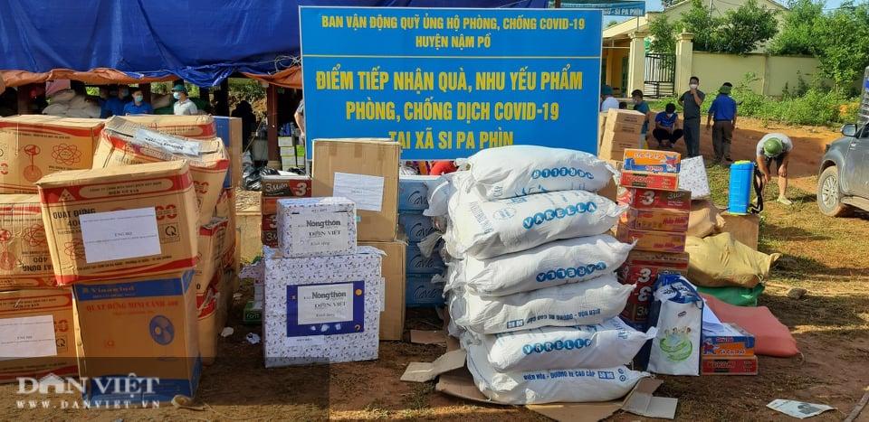 Báo NTNN/Điện tử Dân Việt hỗ trợ đồng bào vùng dịch Nậm Pồ - Ảnh 3.
