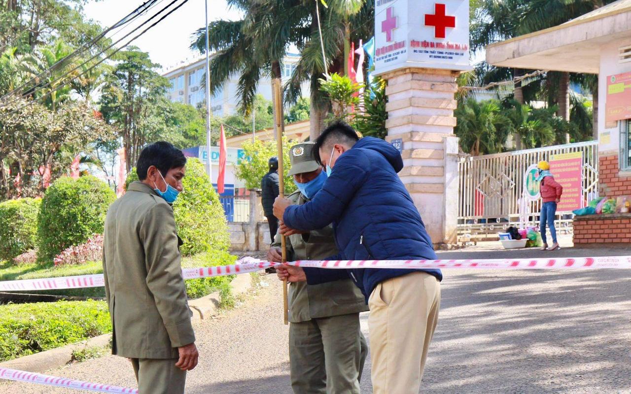 Gia Lai: Phát hiện ca dương tính với SARS-CoV-2
