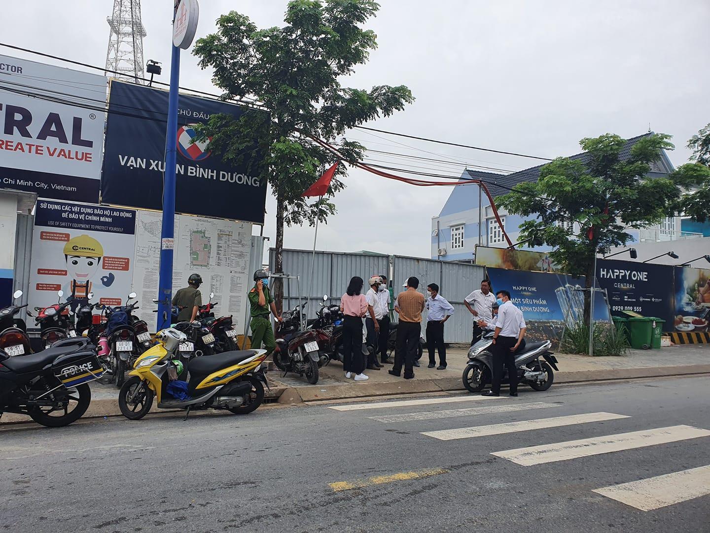 Bình Dương: Dự án Happy One Central đục tường đài truyền hình, xả trộm nước thải vào khu dân cư