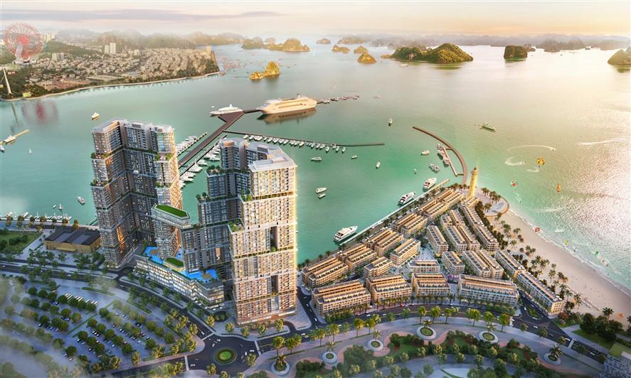 """Tầm nhìn """"độc bản"""" của Sun Marina Town bên Vịnh Du Thuyền - Ảnh 2."""