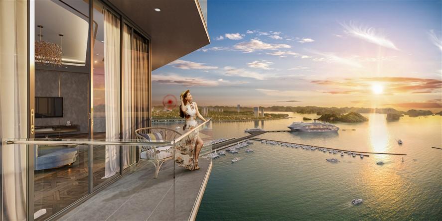 """Tầm nhìn """"độc bản"""" của Sun Marina Town bên Vịnh Du Thuyền - Ảnh 3."""