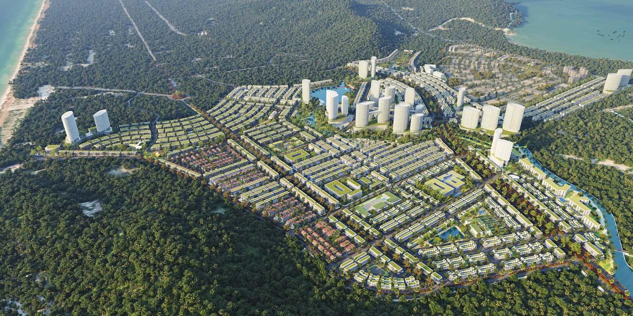 - Tân Á Đại Thành kiến tạo hệ sinh thái kép đô thị tại Phú Quốc - Ảnh 1.