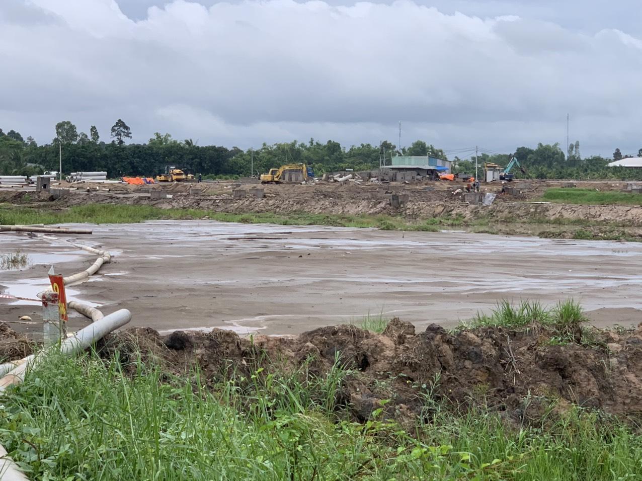 """Khuất tất đấu giá """"đất vàng"""" ở An Giang: Công ty Cổ phần Đầu tư HTG chưa được cấp phép xây dựng! - Ảnh 1."""