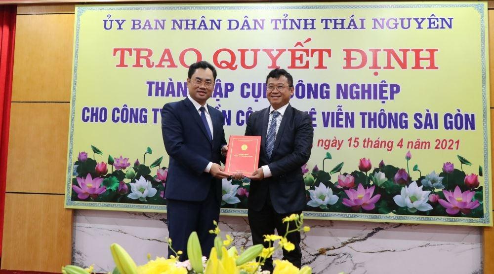 Thái Nguyên: Gần 300 tỷ đồng thành lập 2 cụm công nghiệp  - Ảnh 1.