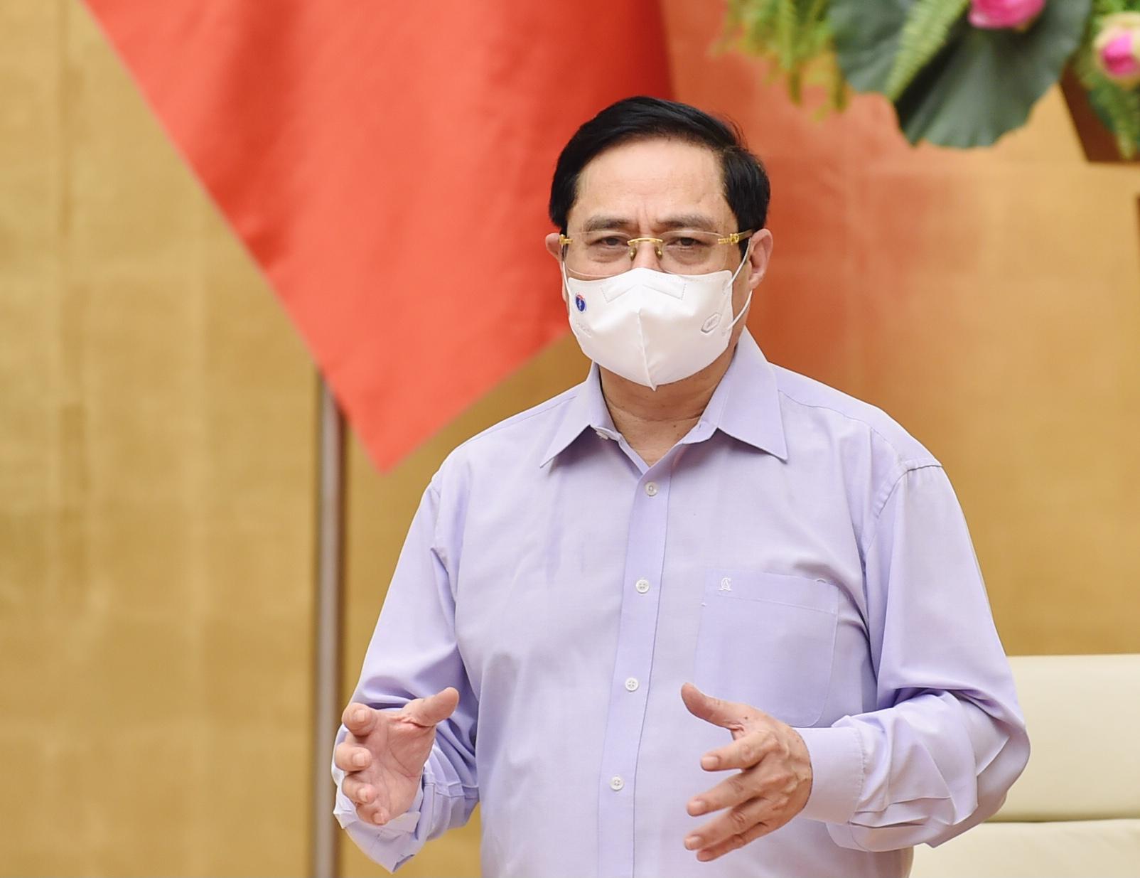 Thủ tướng Phạm Minh Chính đưa ra yêu cầu với Bí thư, Chủ tịch tỉnh, thành trong công tác chống dịch - Ảnh 1.