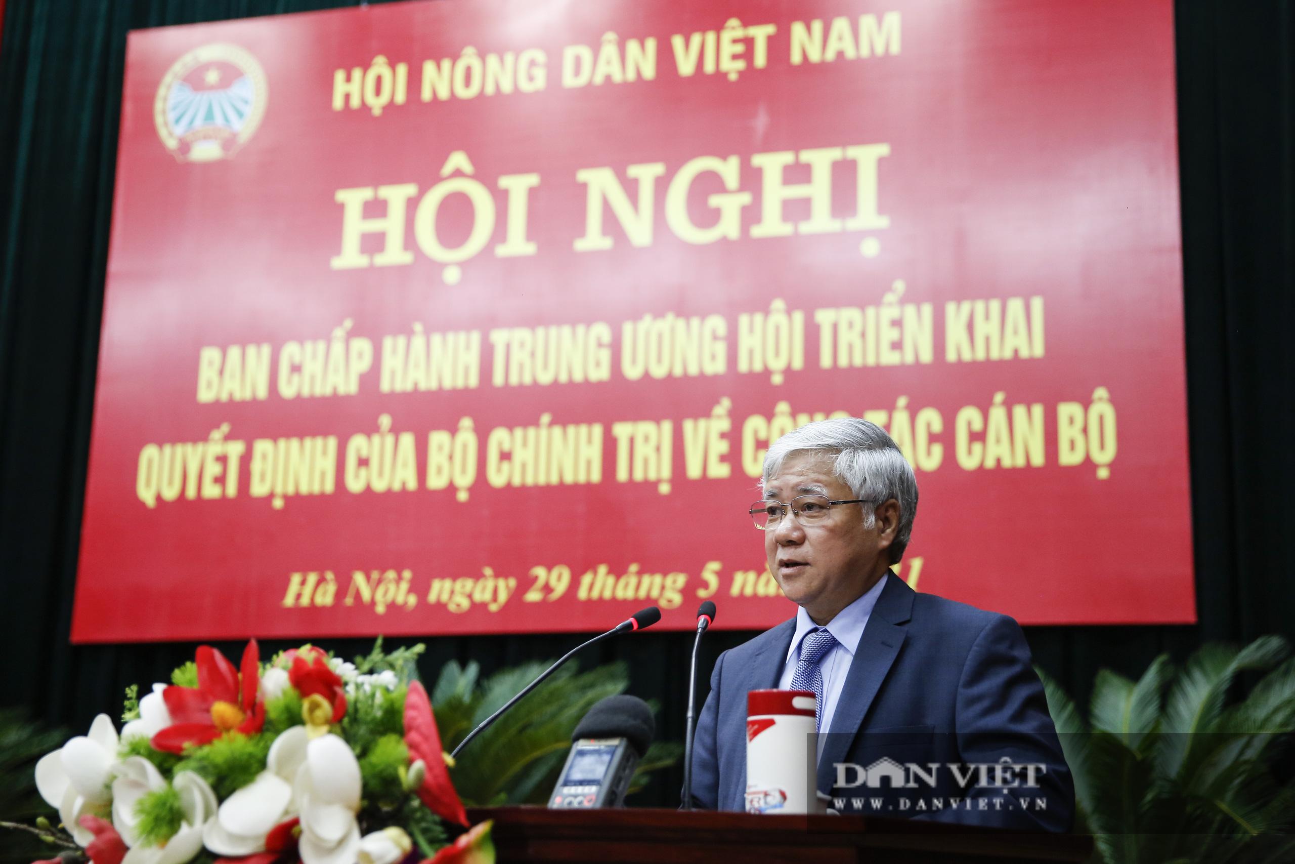 Ảnh: Hội nghị BCH TƯ Hội Nông dân Việt Nam triển khai quyết định của Bộ Chính trị về công tác cán bộ - Ảnh 5.