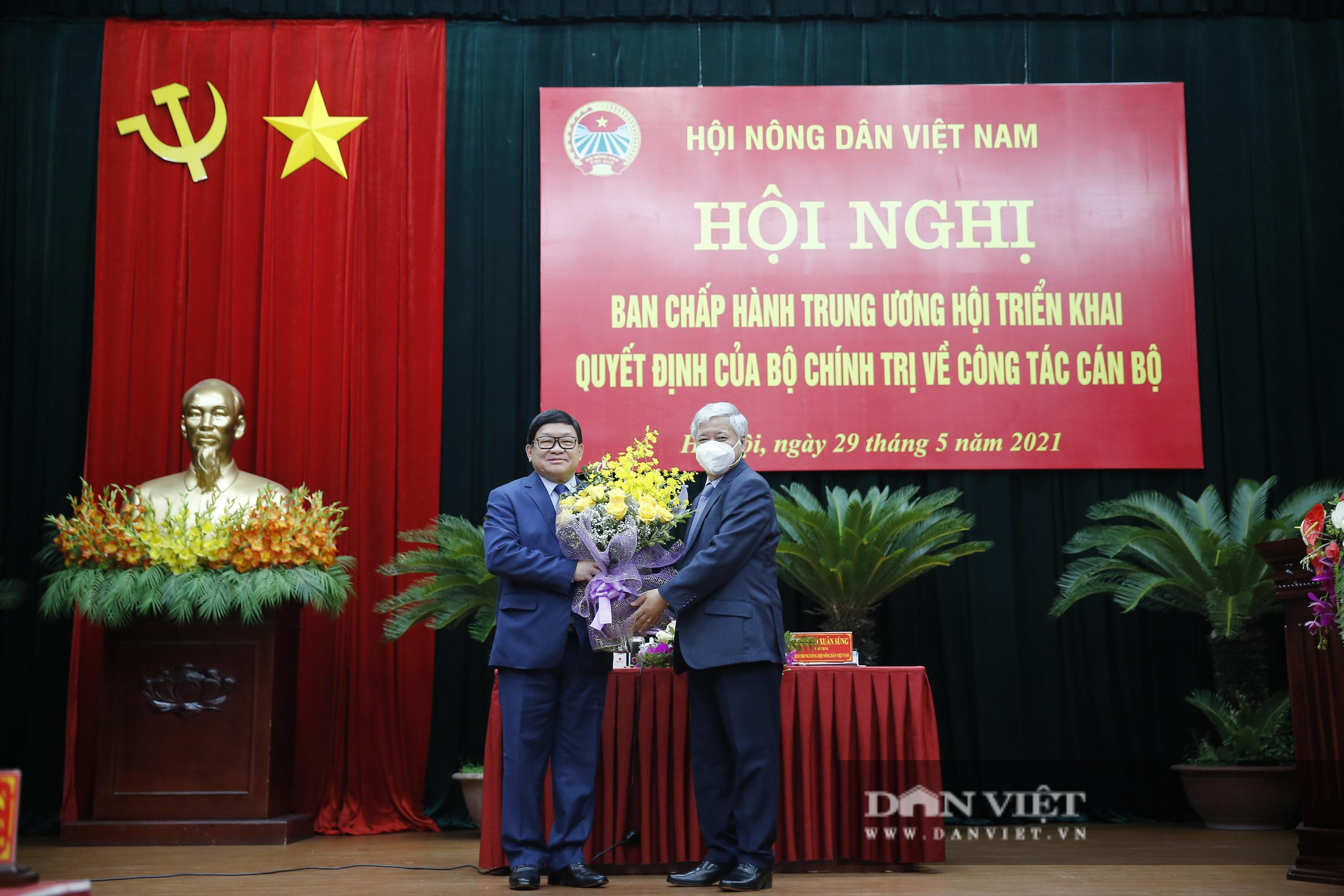 Ảnh: Hội nghị BCH TƯ Hội Nông dân Việt Nam triển khai quyết định của Bộ Chính trị về công tác cán bộ - Ảnh 6.
