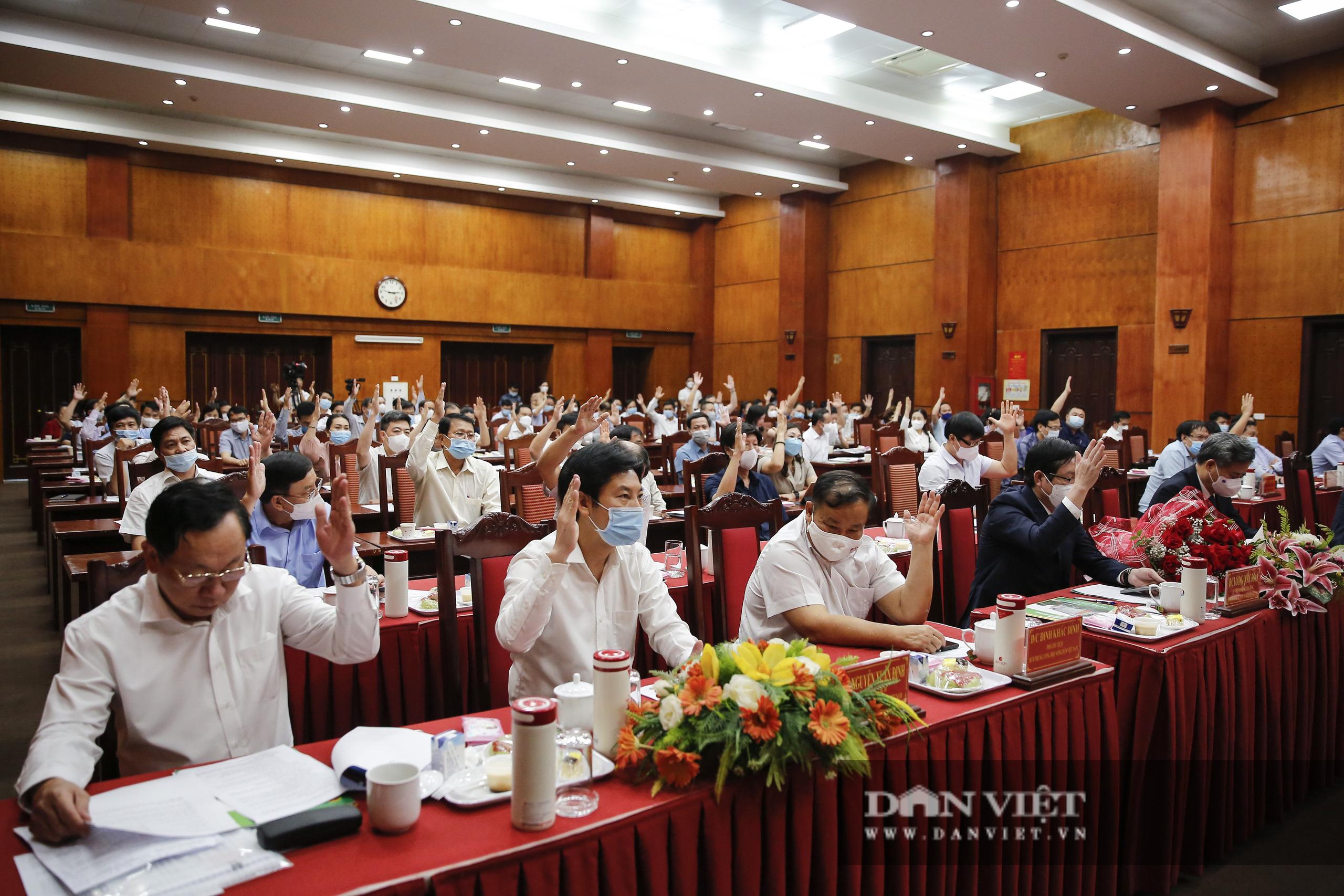 Ảnh: Hội nghị BCH TƯ Hội Nông dân Việt Nam triển khai quyết định của Bộ Chính trị về công tác cán bộ - Ảnh 8.