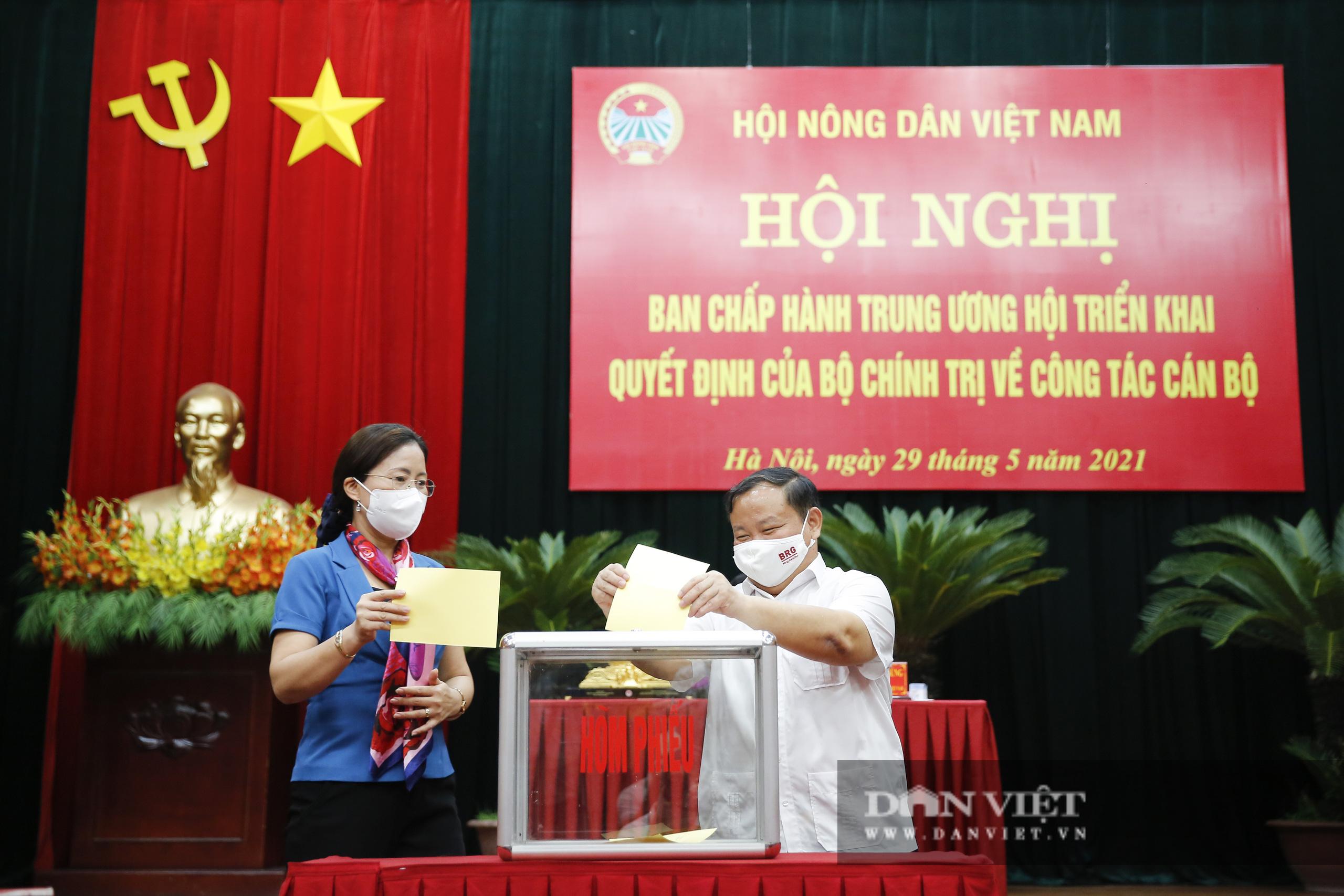 Ảnh: Hội nghị BCH TƯ Hội Nông dân Việt Nam triển khai quyết định của Bộ Chính trị về công tác cán bộ - Ảnh 11.