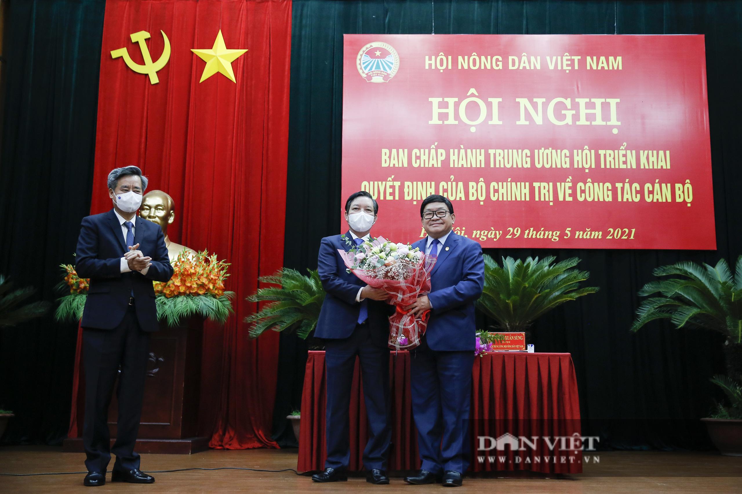 Ảnh: Hội nghị BCH TƯ Hội Nông dân Việt Nam triển khai quyết định của Bộ Chính trị về công tác cán bộ - Ảnh 13.