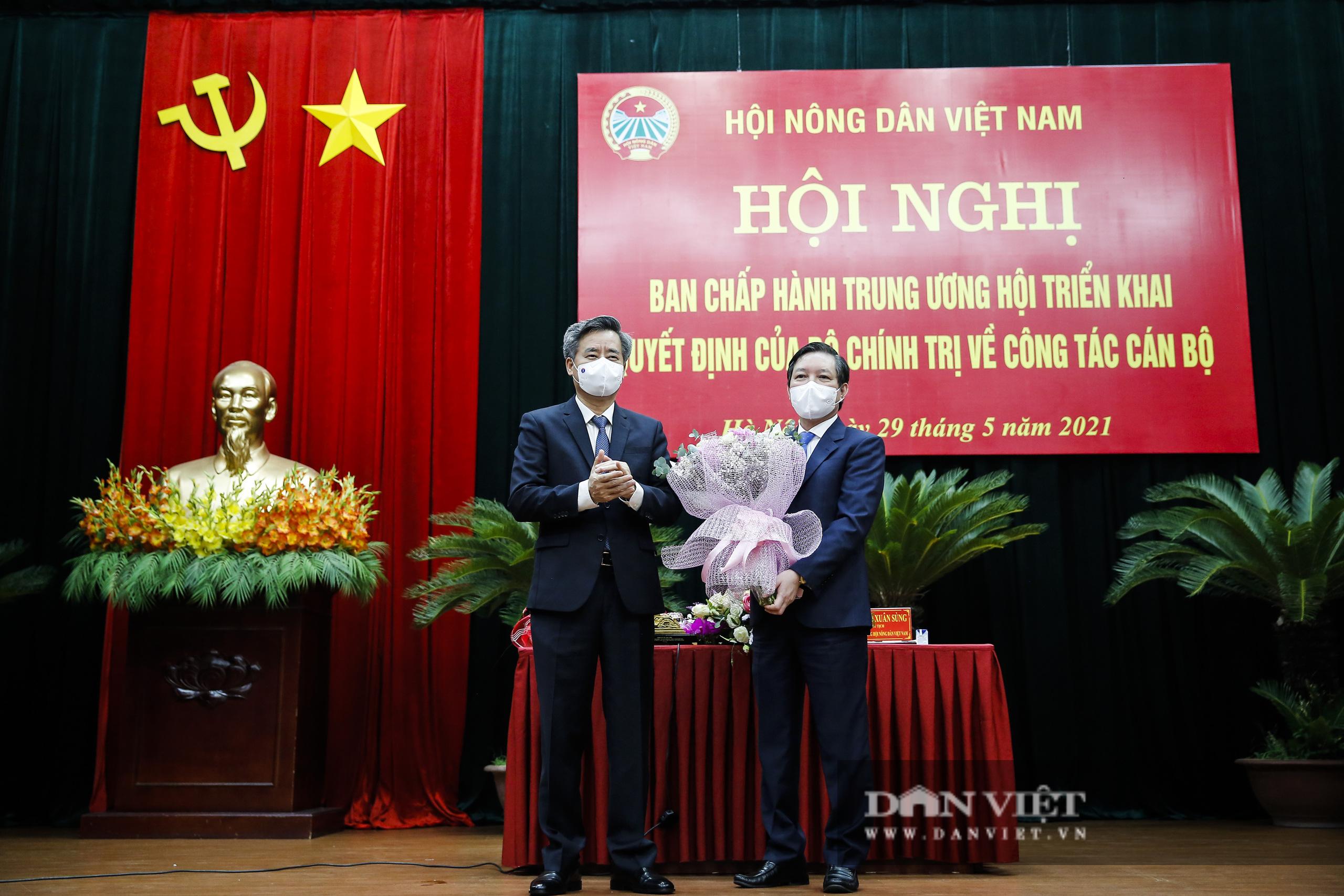 Ảnh: Hội nghị BCH TƯ Hội Nông dân Việt Nam triển khai quyết định của Bộ Chính trị về công tác cán bộ - Ảnh 14.