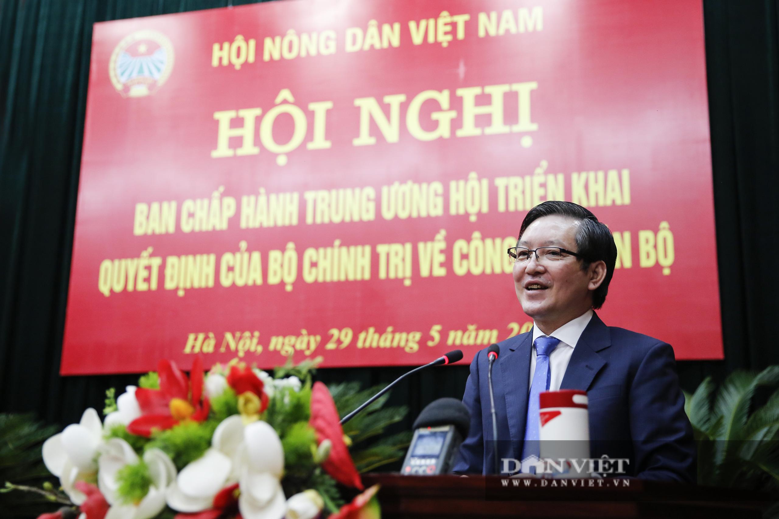 Ảnh: Hội nghị BCH TƯ Hội Nông dân Việt Nam triển khai quyết định của Bộ Chính trị về công tác cán bộ - Ảnh 15.