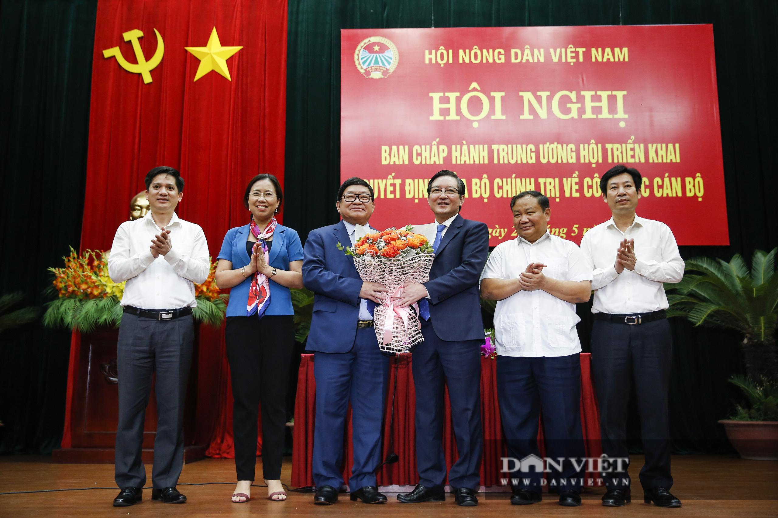 Ảnh: Hội nghị BCH TƯ Hội Nông dân Việt Nam triển khai quyết định của Bộ Chính trị về công tác cán bộ - Ảnh 17.