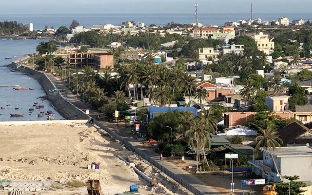 Quảng Ngãi: Huyện xin lấn biển lấy đất cấp cho dân làm nơi ở