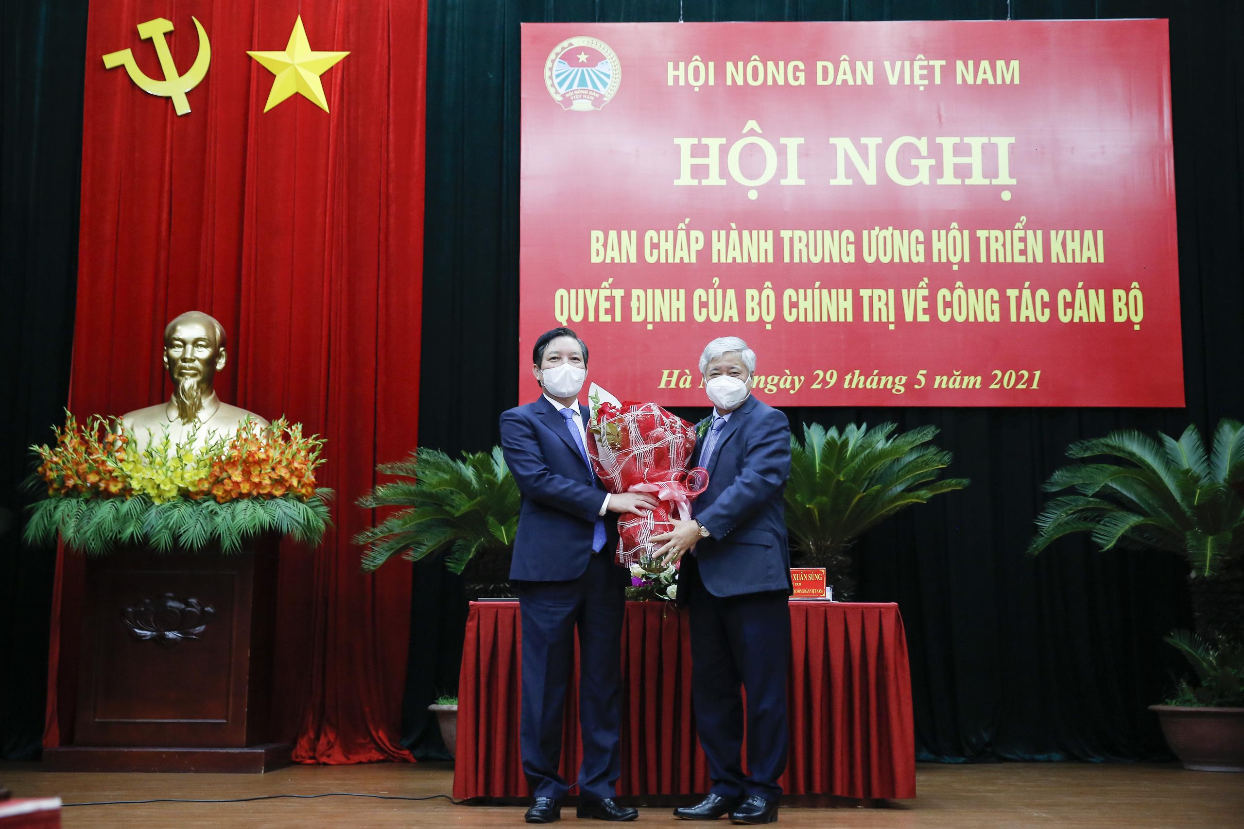 Ông Lương Quốc Đoàn đảm nhận chức Bí thư Đảng đoàn T.Ư Hội Nông dân Việt Nam - Ảnh 3.