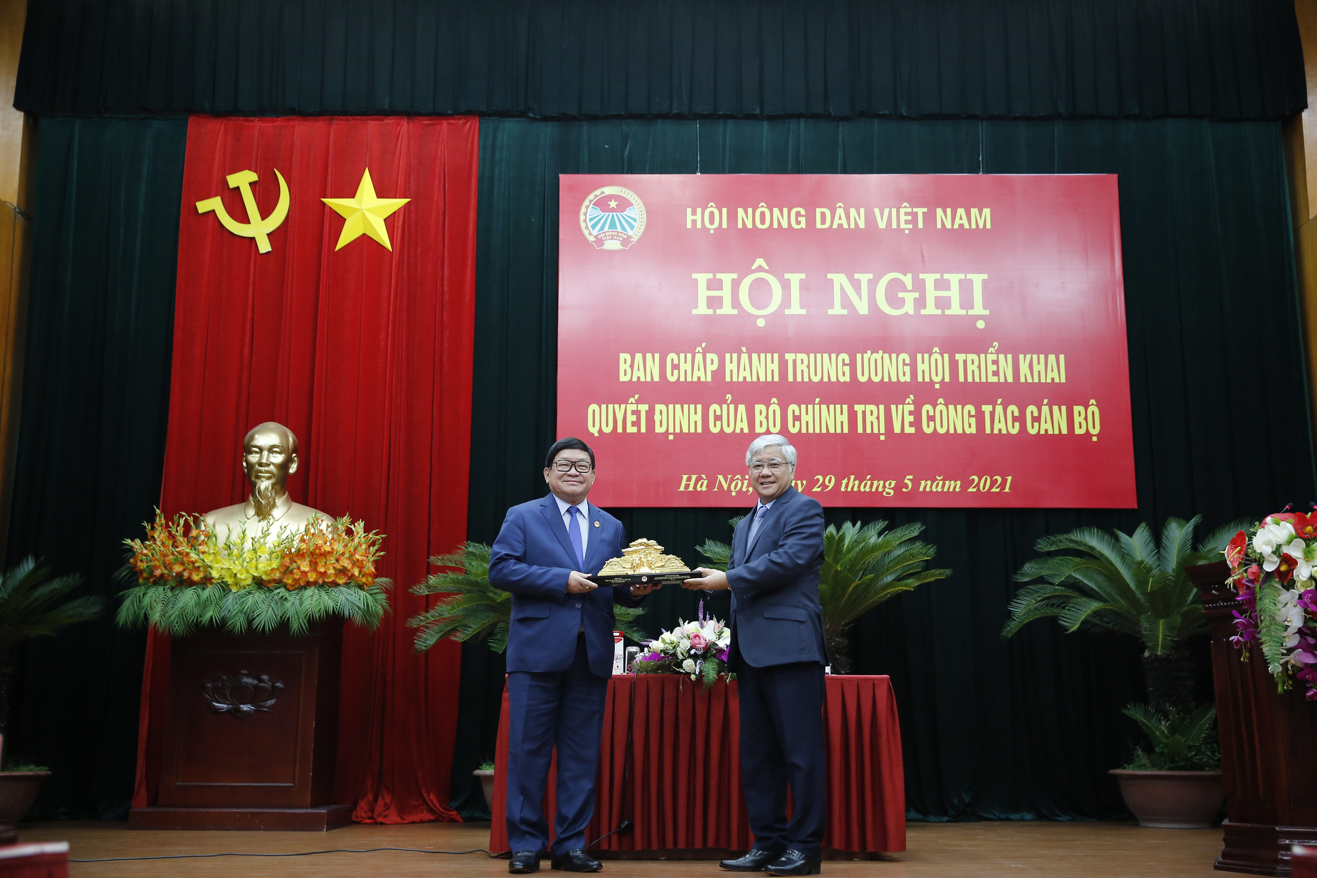Ông Lương Quốc Đoàn đảm nhận chức Bí thư Đảng đoàn T.Ư Hội Nông dân Việt Nam - Ảnh 5.