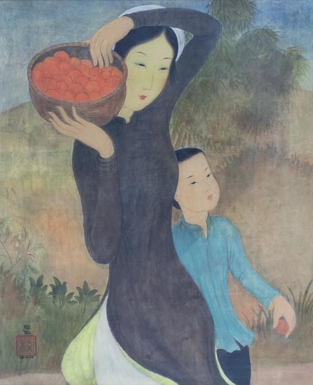 """Triển lãm 140 tác phẩm của một trong các """"tứ kiệt trời Âu"""" của hội họa Việt Nam  - Ảnh 1."""