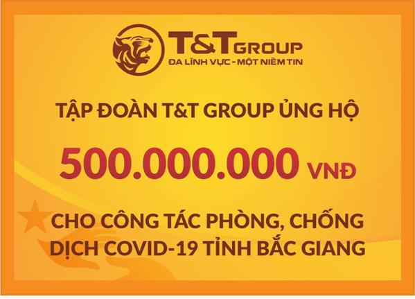 T&T Group tiếp tục hỗ trợ 1 tỷ đồng giúp Bắc Ninh, Bắc Giang chống dịch - Ảnh 1.