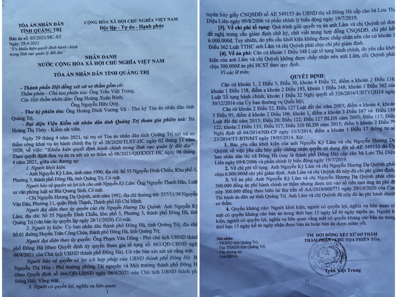Quảng Trị: Hai anh em mất đất vì chính quyền chứng thực hợp đồng khống - Ảnh 4.