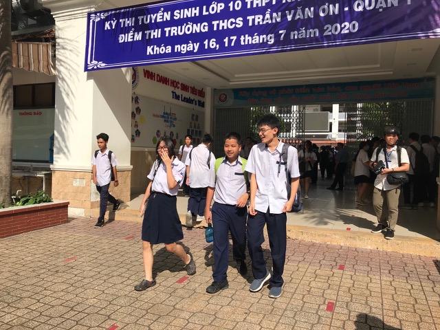 TP.HCM: Đề xuất lùi kỳ thi tuyển sinh lớp 10 đến ngày 22/6 - Ảnh 1.