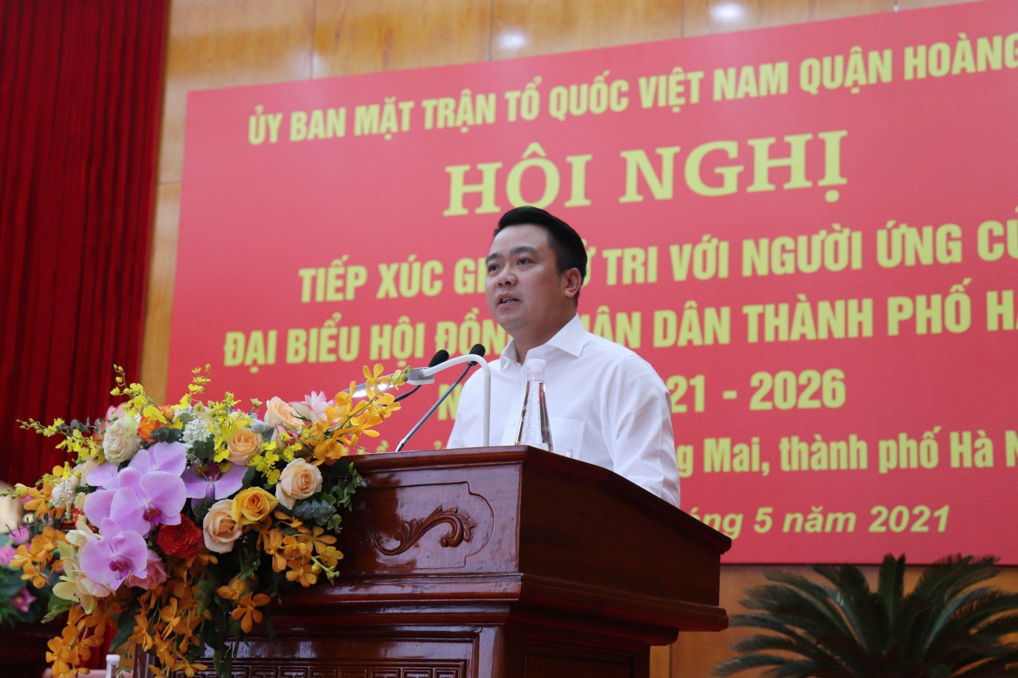 Chân dung tân đại biểu HĐNĐ thành phố Hà Nội 36 tuổi Nguyễn Duy Chính - Ảnh 1.