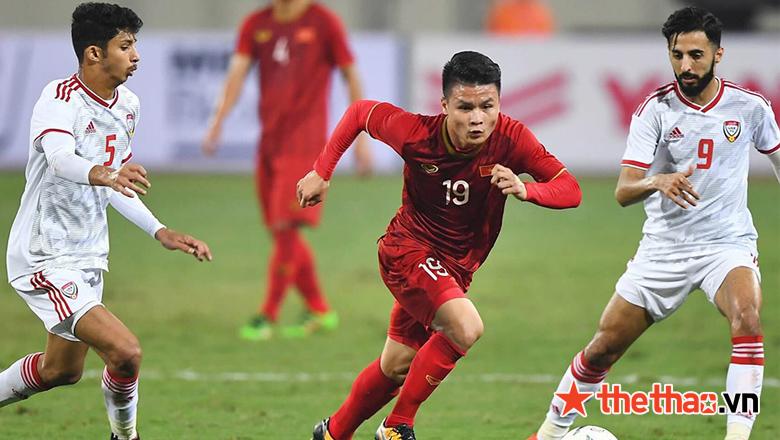 """Nếu toàn thắng tại UAE, ĐT Việt Nam có thể tạo cột mốc """"có 1-0-2"""" - Ảnh 1."""