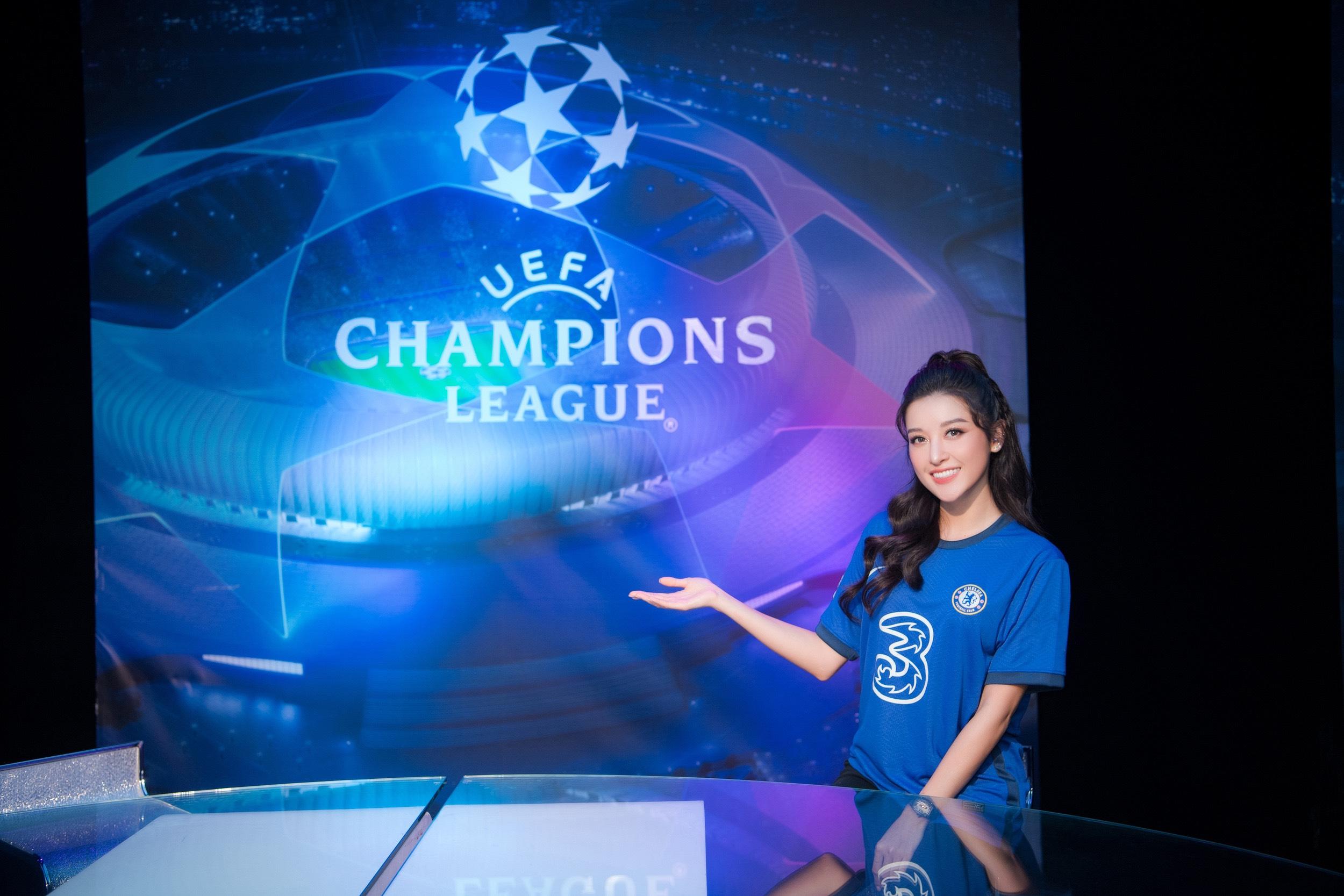 Huyền My hội ngộ Đỗ Hùng Dũng, vỡ oà khi Chelsea vô địch Champions League - Ảnh 6.