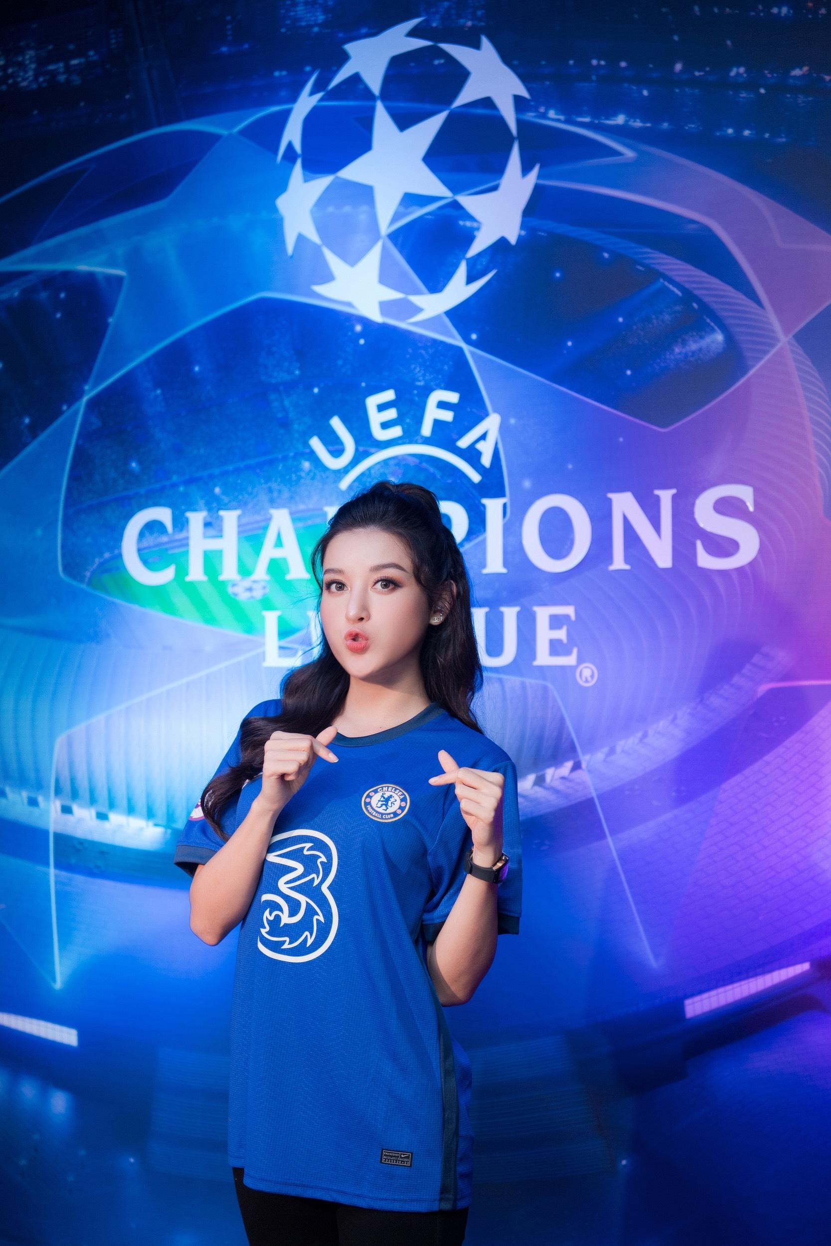 Huyền My hội ngộ Đỗ Hùng Dũng, vỡ oà khi Chelsea vô địch Champions League - Ảnh 5.
