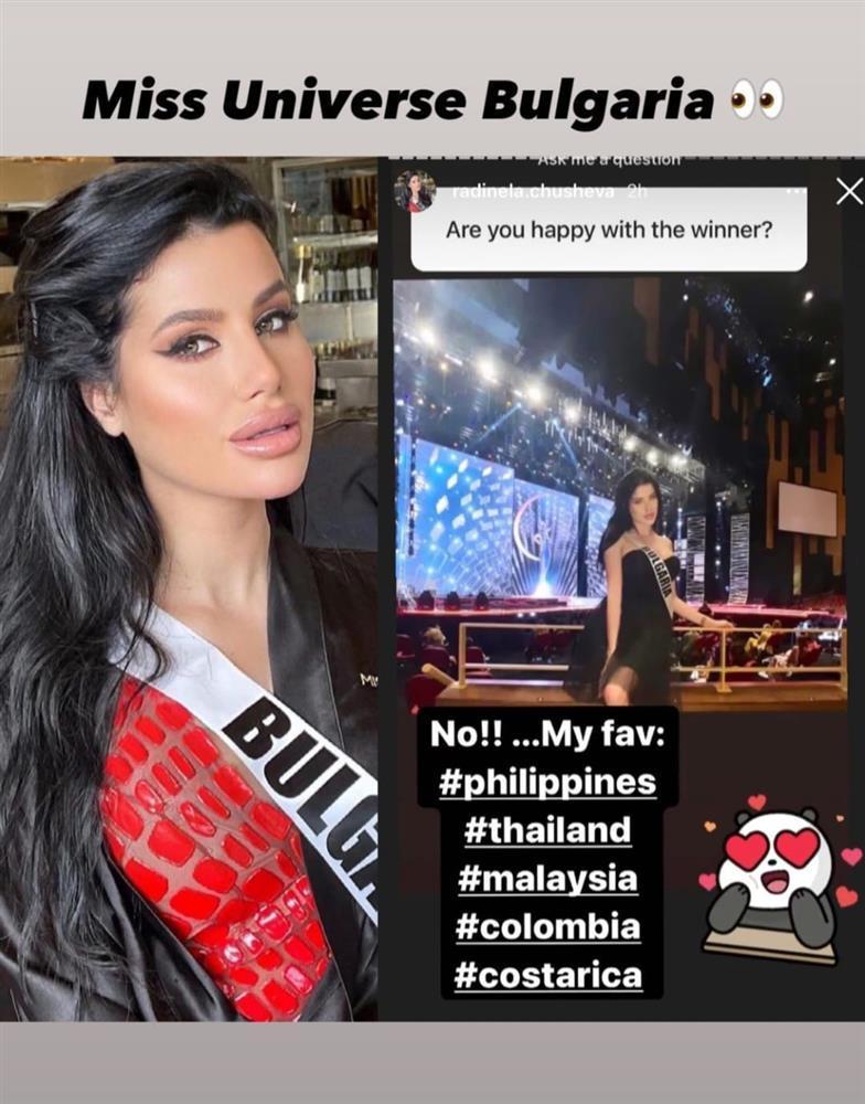 """Thí sinh Miss Universe 2020 bị chỉ trích vì tạo """"drama"""", thẳng thừng chê bai tân hoa hậu - Ảnh 2."""