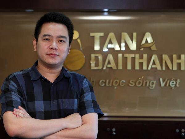 Ông Nguyễn Duy Chính, Tổng Giám đốc Công ty cổ phần đầu tư Tập đoàn Tân Á Đại Thành.