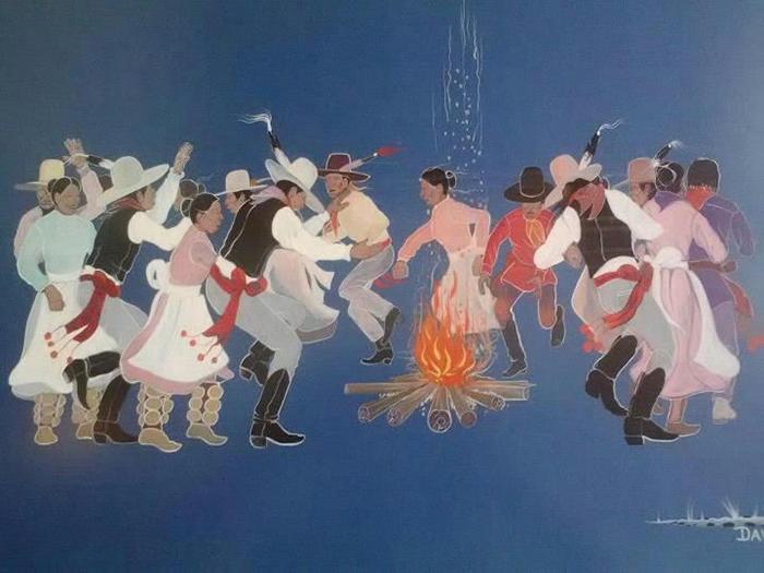 Lễ hội Pow Wow cuốn hút với những vũ điệu sắc màu độc lạ của thổ dân Cherokee - Ảnh 4.