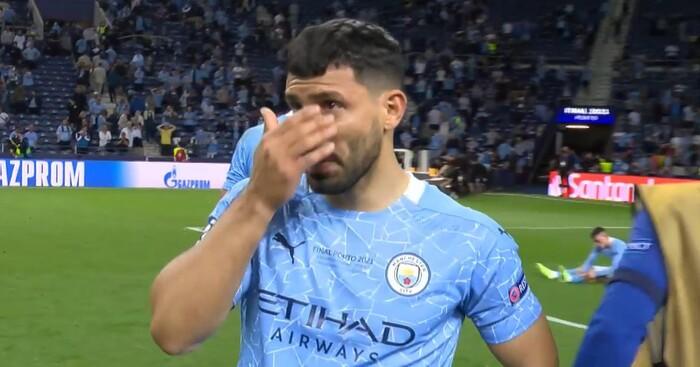 Kết thúc không có hậu, Aguero chia tay Man City trong nước mắt - Ảnh 2.
