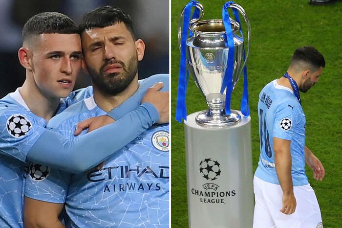 Kết thúc không có hậu, Aguero chia tay Man City trong nước mắt - Ảnh 1.